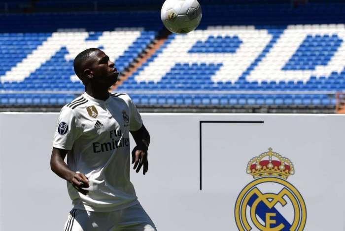 Vinicius Junior é registrado na equipe de juniores pelo Real Madrid
