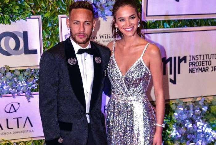 Neymar e a namorada, Bruna Marquezine