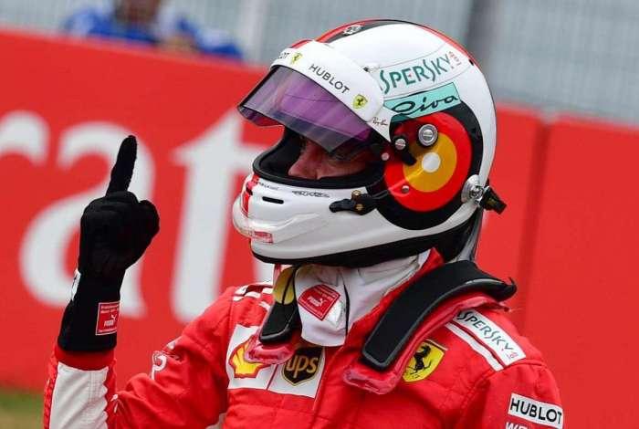 Vettel sonha com vitória na Itália pela Ferrari