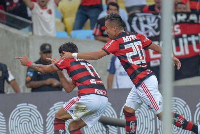 878663fca0 CBF confirma que gol do Flamengo contra o Botafogo foi legal   grau ...