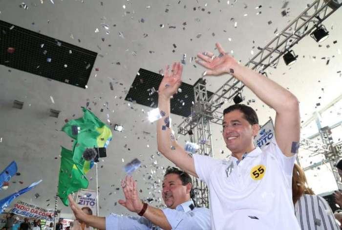PSD oficializou neste s�bado a candidatura de �ndio da Costa. Vice ser� Zaqueu Teixeira