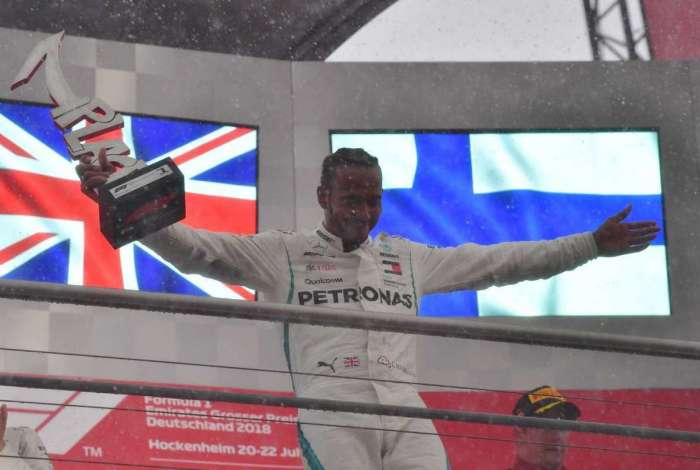 Lewis Hamilton venceu GP da Alemanha