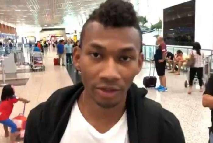Cabezas acertou com o Fluminense