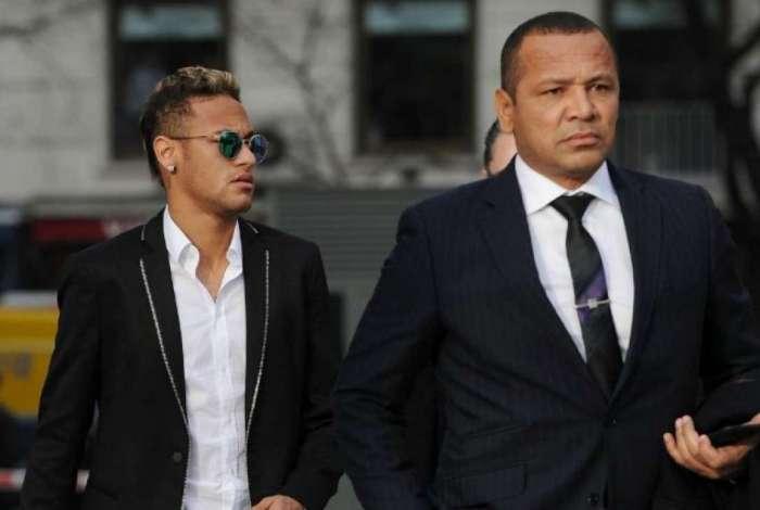 Pai de Neymar repetiu as acusações de tentativa de extorsão