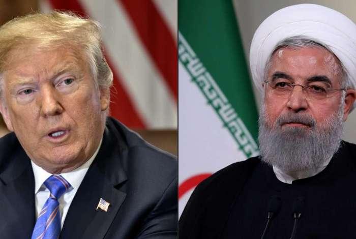 'Quem quer que faça negócios com o Irã NÃO fará com os Estados Unidos. Estou pedindo a PAZ MUNDIAL, nada mais', tuitou Trump