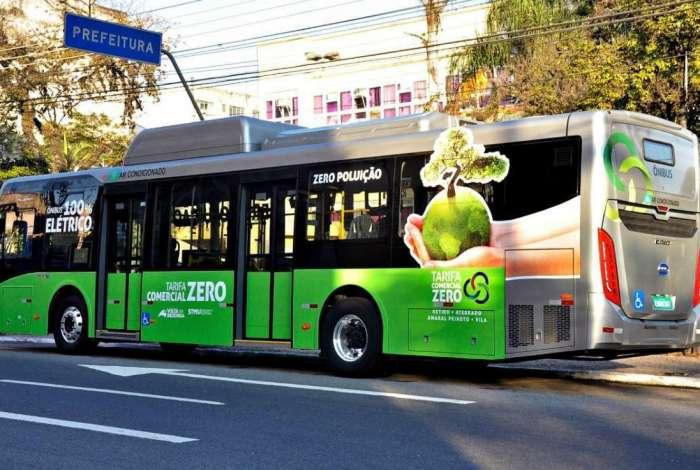 Coletivo faz parte do projeto Tarifa Comercial Zero e conta com seis pontos de embarque e desembarque
