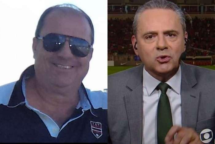 Edson Callagares e Luis Roberto