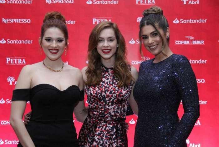 Ana Clara, Sophia Abrahão e Vivian
