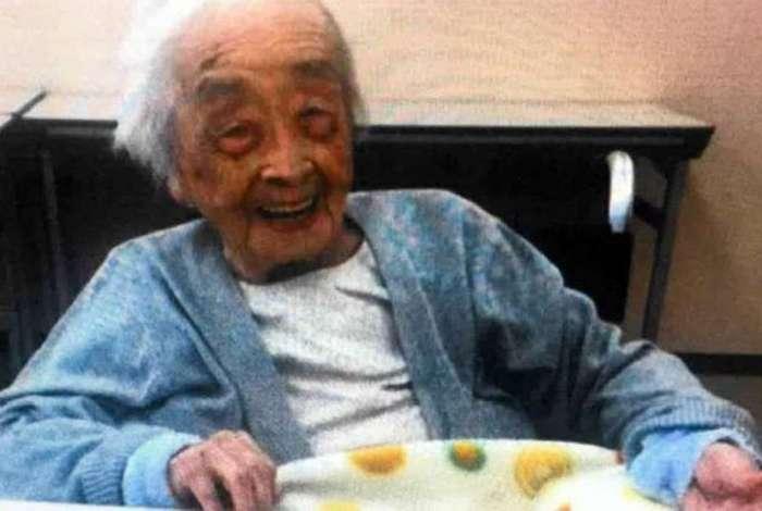 Chiyo nasceu em 2 de maio de 1901 e se tornou a pessoa mais velha do mundo em abril deste ano