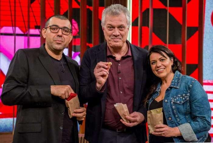 Conversa com Bial com Janaína e Jefferson Rueda, os chefs badalados de SP