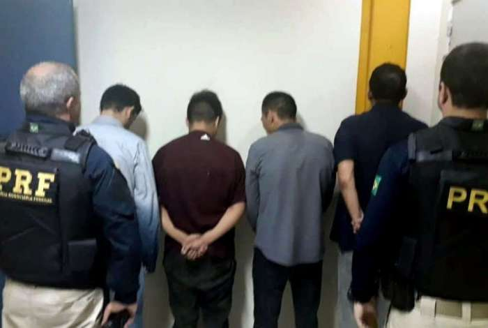 Grupo foi detido na Rio-Teresópolis