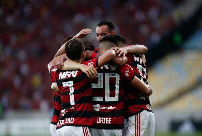 29/07/2018. Partida entre Flamengo x Sport no Estádio do Maracanã, válida pela 16ª Rodada do Campeonato Brasileiro. Foto - Staff Images / Flamengo