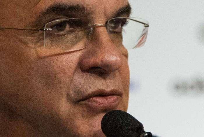 Presidente do Flamengo, Bandeira de Mello respondeu acusações de palmeirenses em entrevista coletiva