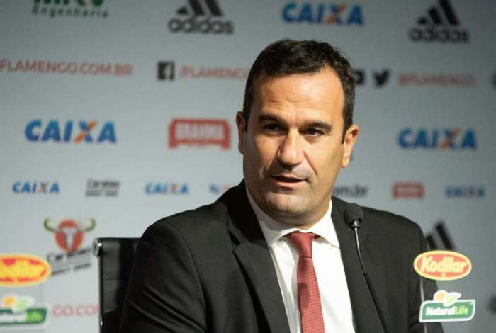 Ricardo Lomba é vice presidente de futebol do Flamengo