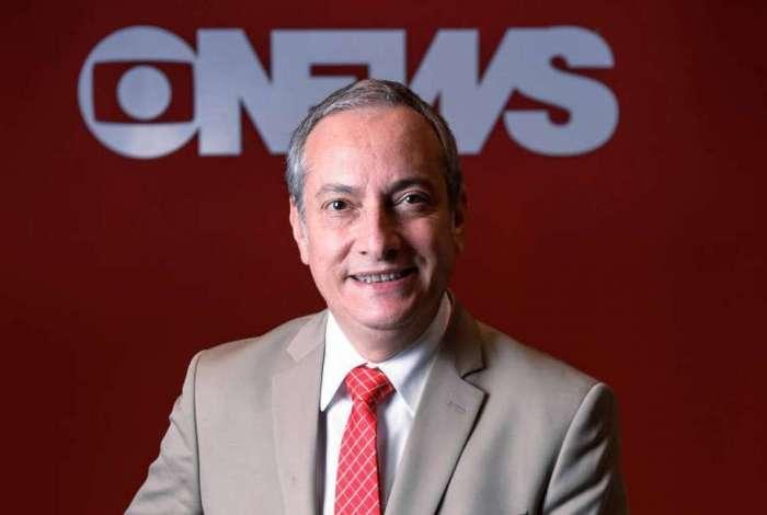 José Roberto Burnier, apresentador de novo telejornal do canal GloboNews