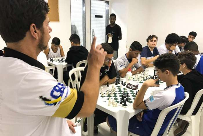 Xadrez no Jogos Estudantis de Campos
