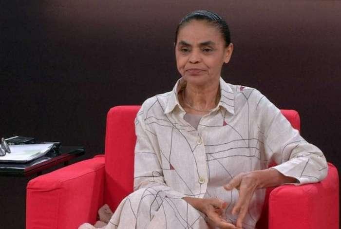 Candidata Marina Silva (Rede)
