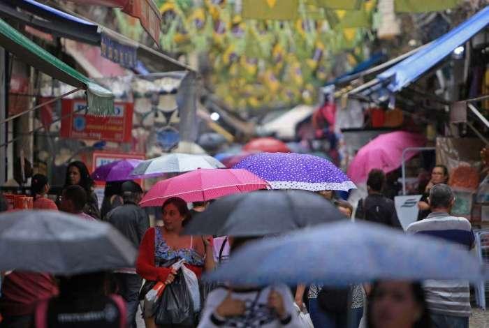 Rio deve ter chuva a partir da tarde desta quarta-feira