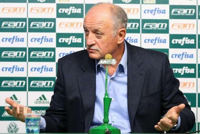 Felipão, treinador do Palmeiras