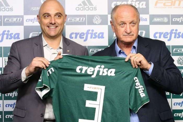 Felipão é o treinador do Palmeiras