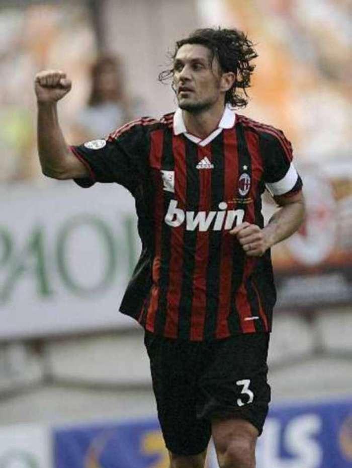 Paolo Maldini, ex-zagueiro e atual dirigente do Milan