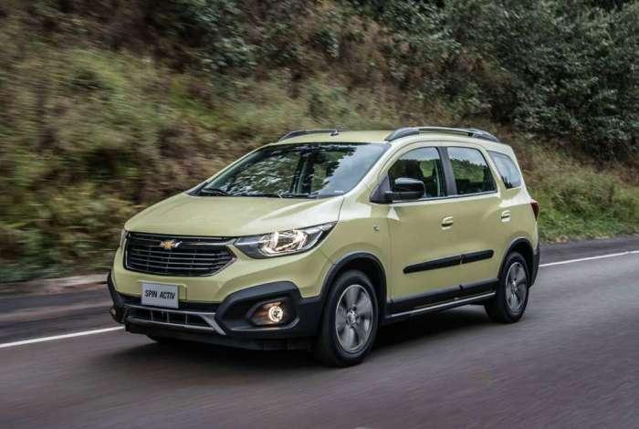 Chevrolet Spin Activ 2019