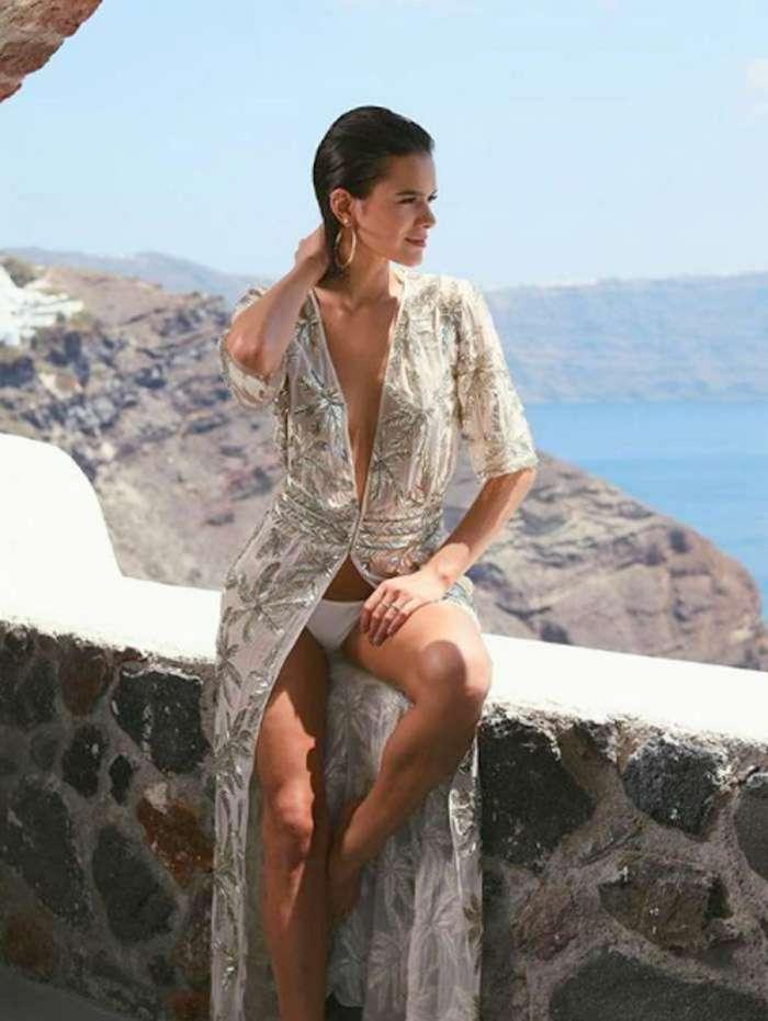 Bruna Marquezine curte férias na Grécia