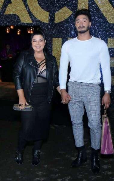 Fabiana Karla e o namorado