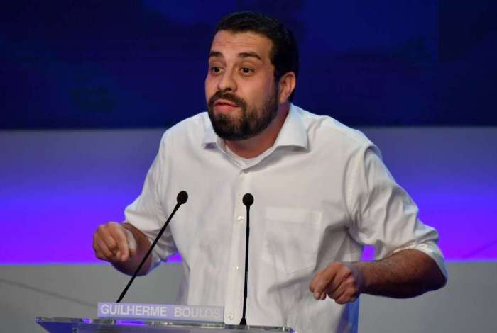 Guilherme Boulos (PSOL) em debate na Band