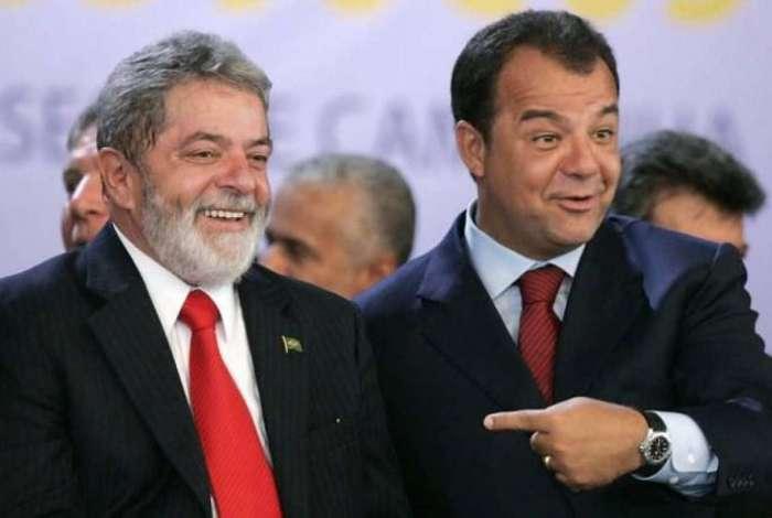 Lula e Sérgio Cabral
