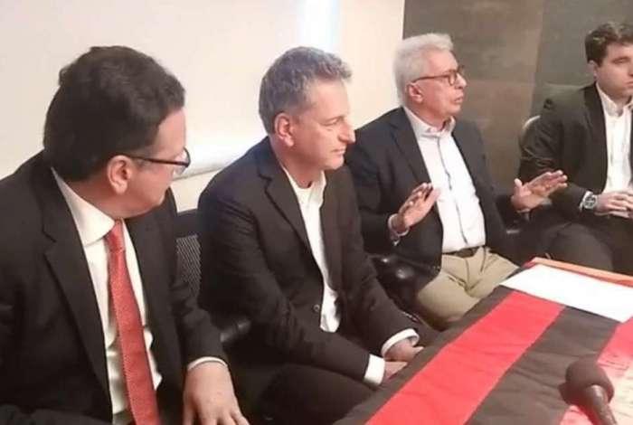 Rodolfo Landim lançou a sua candidatura