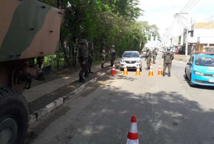 Militares das Forças Armadas participaram da operação em Campos