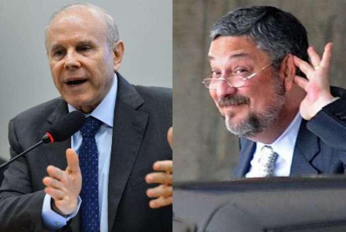 Políticos são acusados dos crimes de lavagem de dinheiro e corrupção