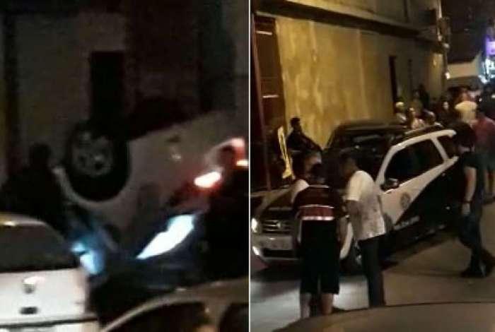 Policiais civis da DH perseguiam o carro com troca de tiros
