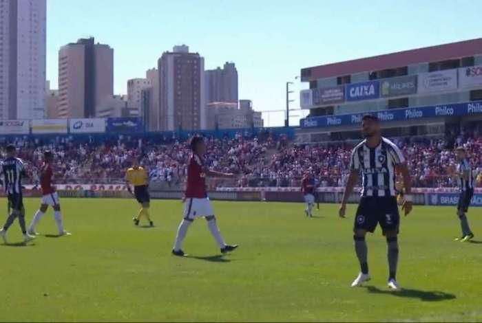 Paraná e Botafogo se enfrentaram na Vila Capanema