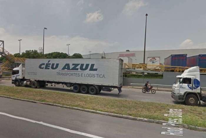 Centro de distribuição das Lojas Americanas