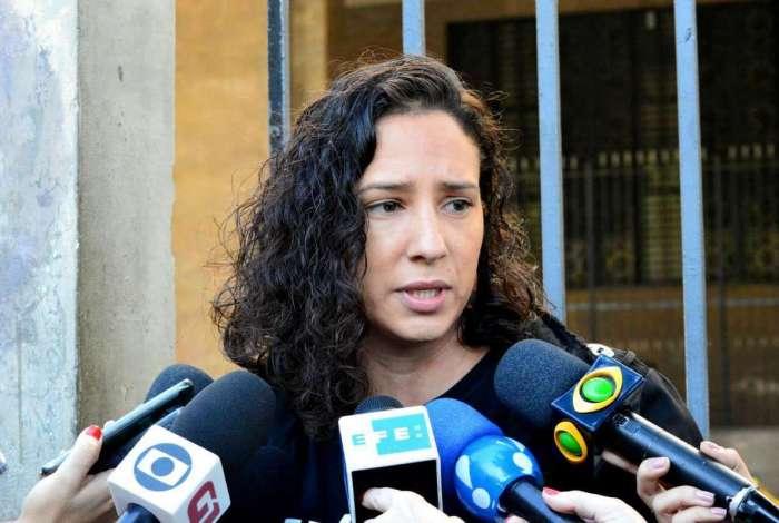 Monica Benício, esposa de Marielle Franco