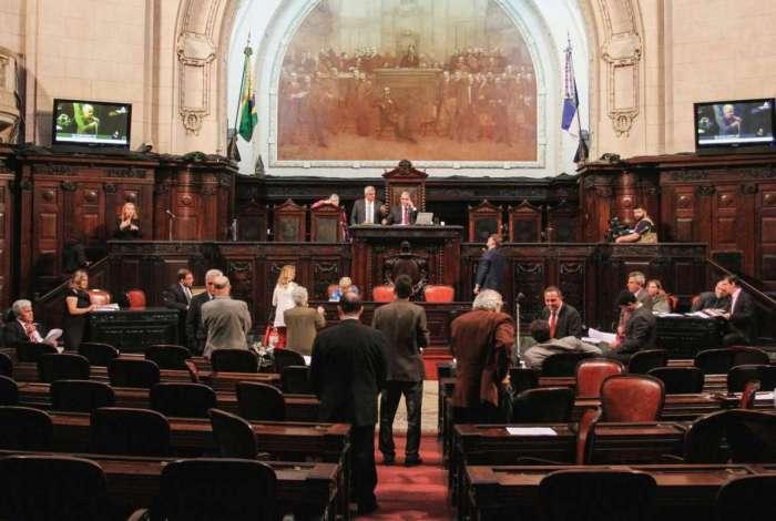 Plenário da Alerj analisará projeto