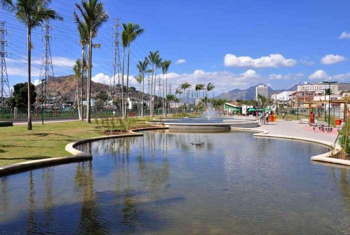 Parque de Madureira virou um dos cartões-postais do Rio