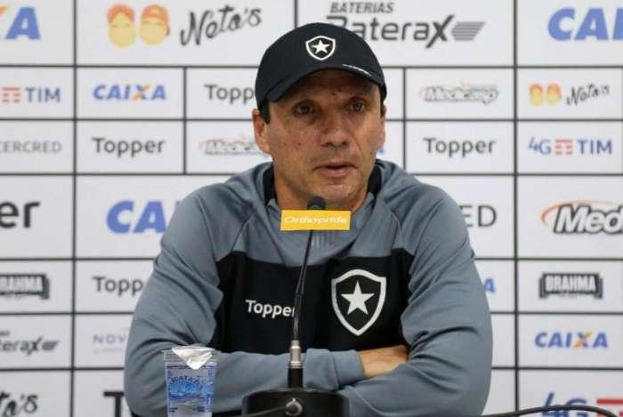 Zé Ricardo falou sobre a situação do Botafogo