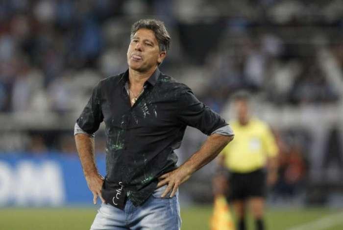 Renato Gaúcho exalta vitória do Grêmio