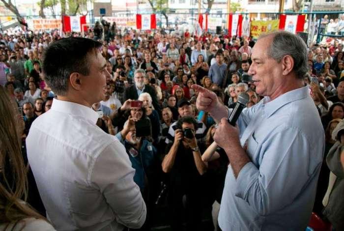 Ciro Gomes (PDT), candidato à Presidência, e Pedro Fernandes (PDT), candidato a governador lançam campanha em Irajá