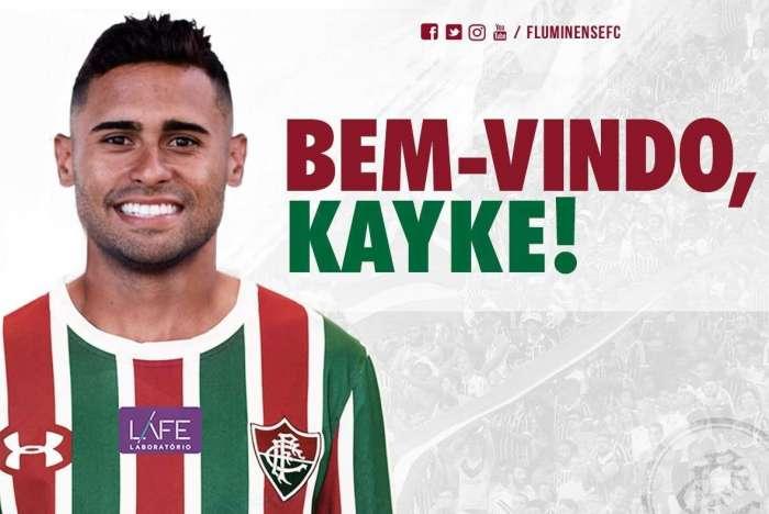 Fluminense acerta a contratação do atacante Kayke ea8d182b7da10