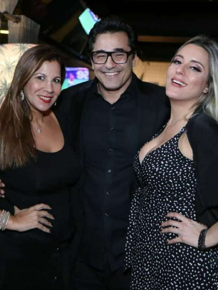 Carla Daniel, Luciano Szafir e Luhanna