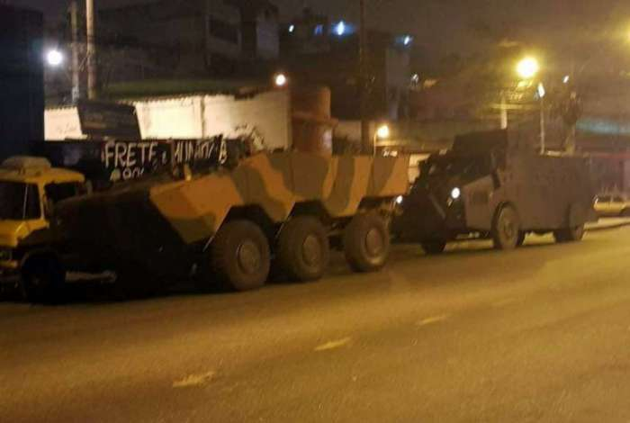 Operação envolve militares das Forças Armadas e da Polícia Civil