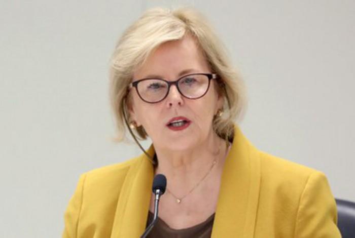 Presidente do TSE, Rosa Weber