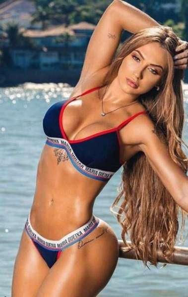 Gabriela Correa é torcedora do Timão