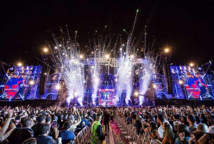 Festival reuniu mais de 70 mil pessoas com duração de 11h de evento
