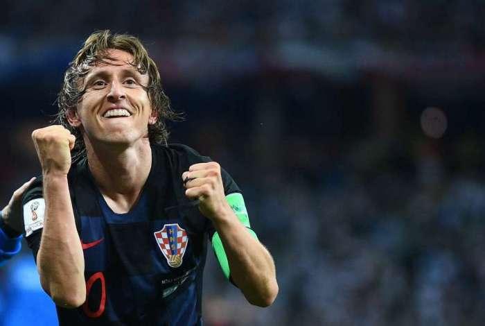 Luka Modric elogiou CR7