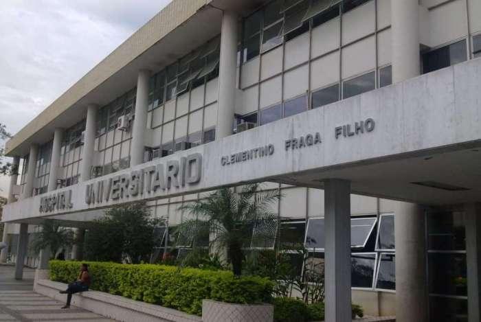 Hospital Universitário Clementino Fraga Filho, no Fundão